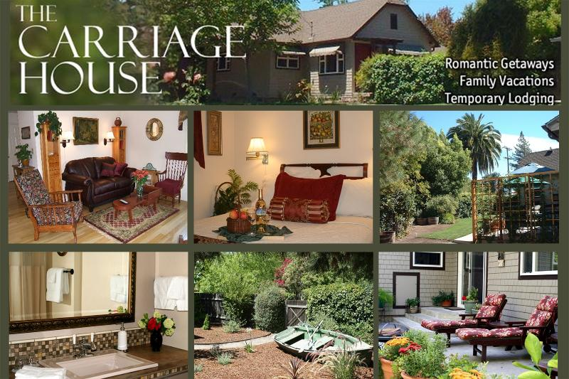 The Carriage House is a Private Retreat with the Ambience of a Fine BnB