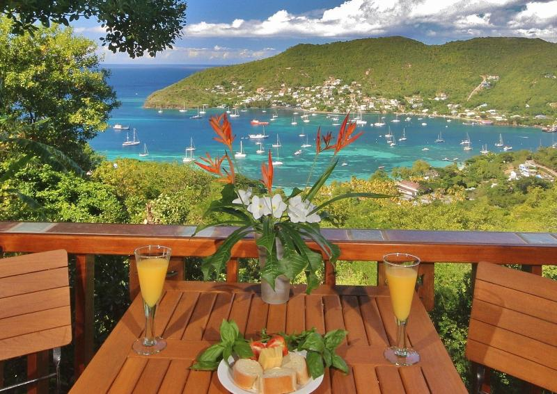 Dine Alfresco style on your private veranda with this amazing view