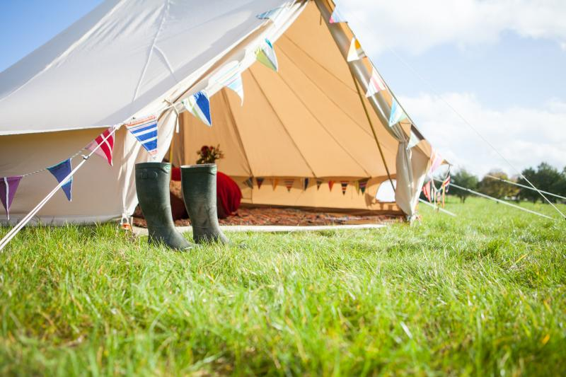 2posh2pitch Glamping at Burnham Thorpe on the North Norfolk Coast