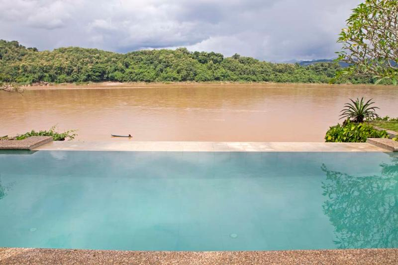 25m swimming pool by the Mekong river