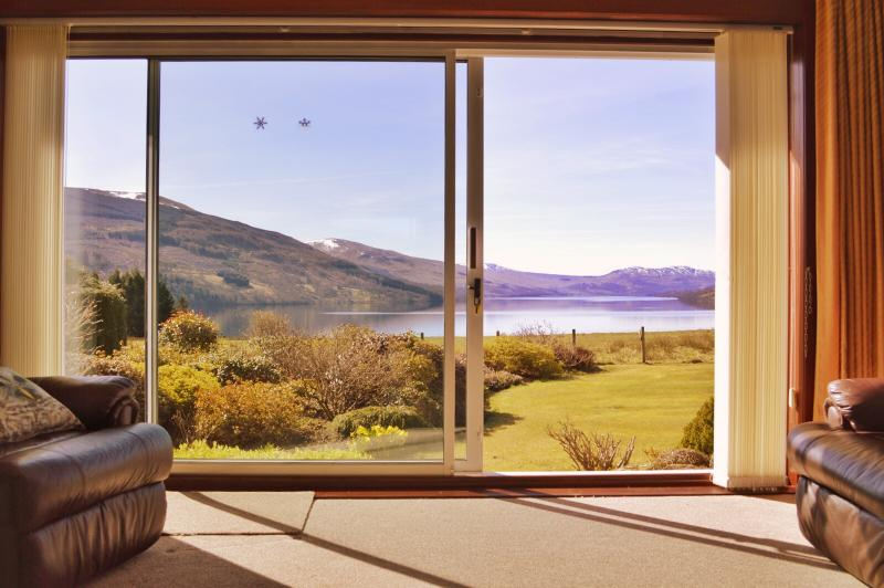 Loch Tay Holiday Home, ALLIGAN, Fearnan, Perthshire., holiday rental in Loch Lomond and The Trossachs National Park