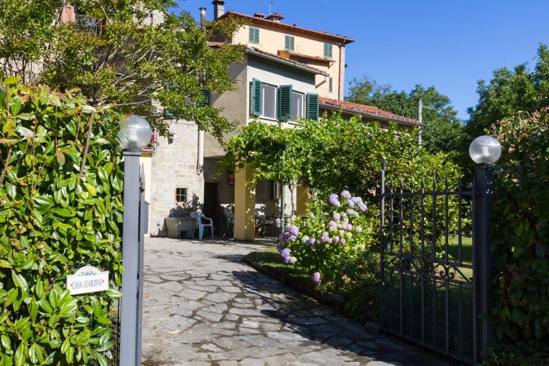 Entrance to Casa Giardino