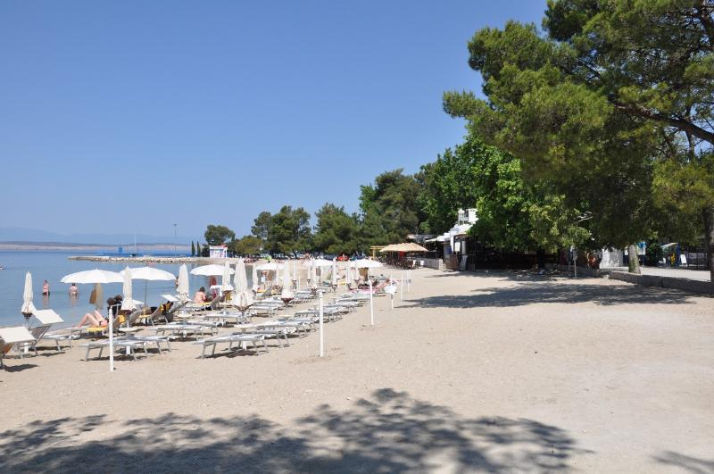surrounding area - Sandy beach in Crikvenica ( cca 2 km)