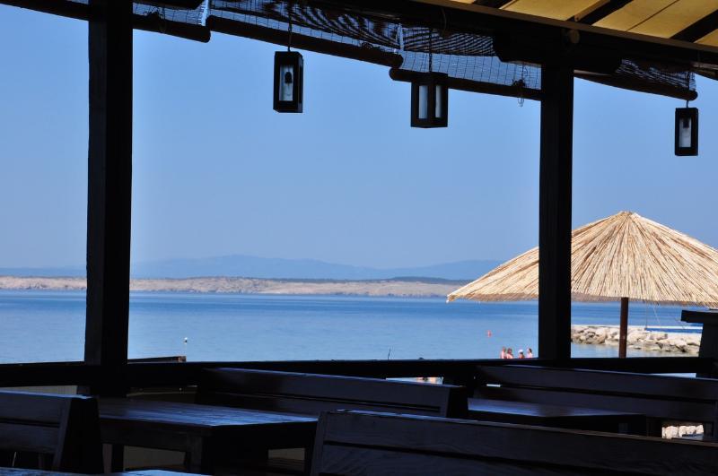 surrounding area - restorant on sandy beach in Crikvenica (cca 2 km)