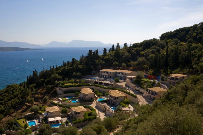 Panoramic view of Thealos Village