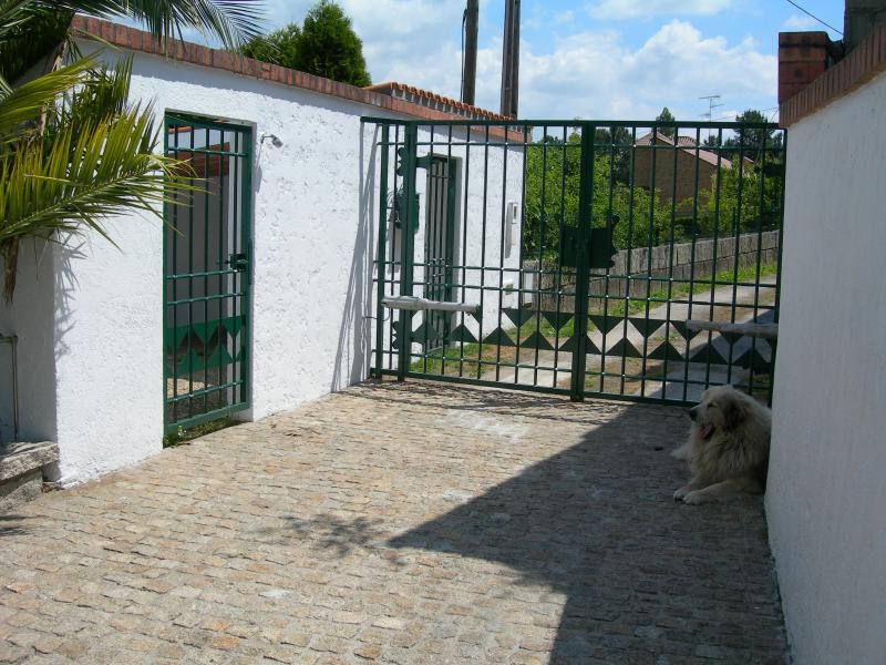 Gate house / entry (dog not included)
