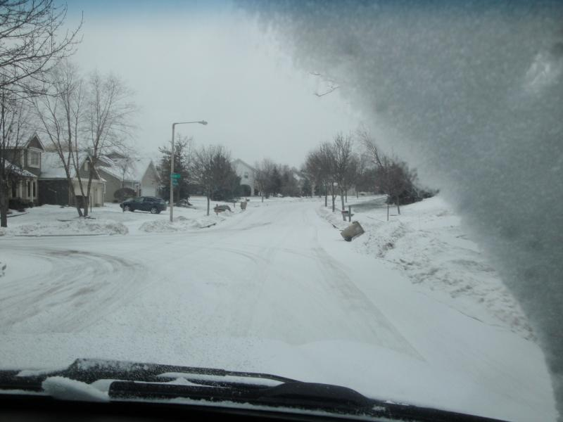 Just kidding- this is winter in Wisconsin! I promise Fiji is never like this.