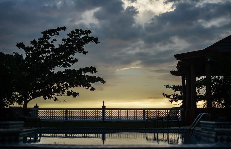 Villa Serene at Sunset
