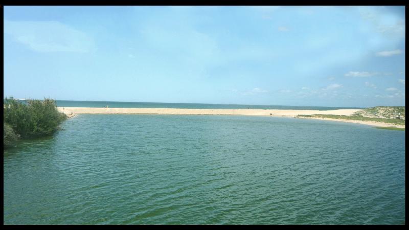 Salgados beach.