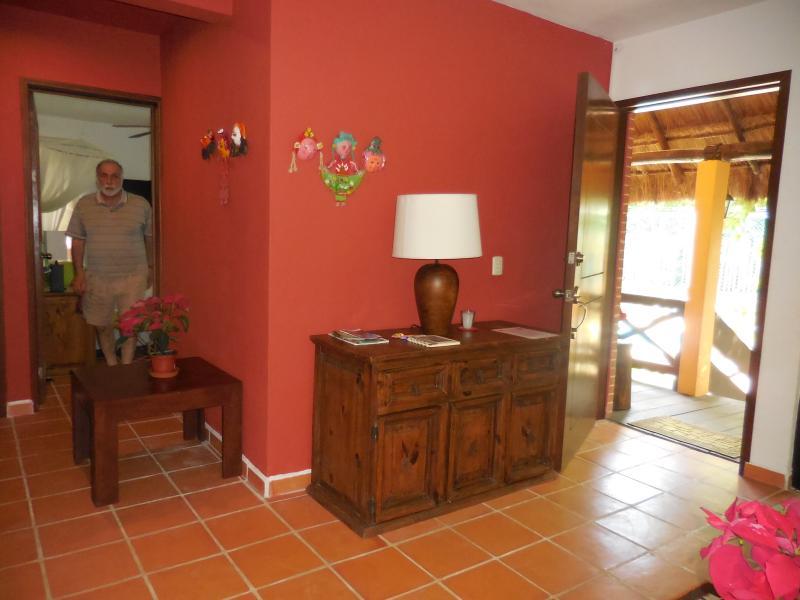 Living room of lower flat