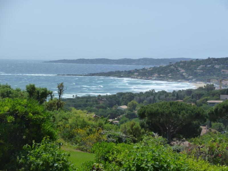 Vue mer sur  golfe de St Tropez. La Nartelle, holiday rental in Sainte-Maxime