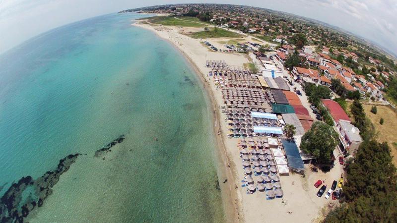 Villa Sea of memories is located on a 400 m² plot on the area of Vergia beach ha, location de vacances à Nea Triglia