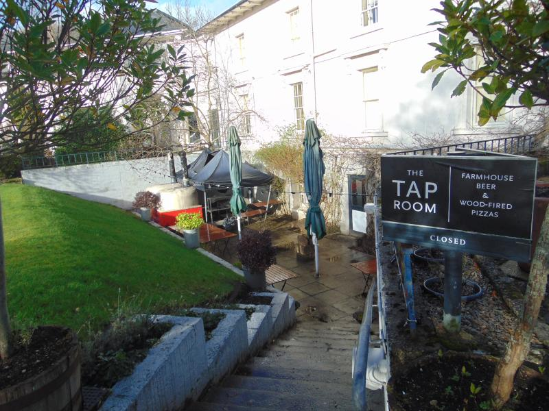 The Tap Room bar and restaurant at Rathmullan House
