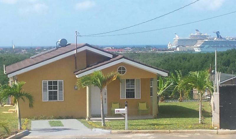 House is located where you have a crystal clear view of Falmouth Cruise Ship Pier.