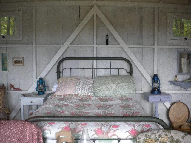 Romantic Camping Cabin