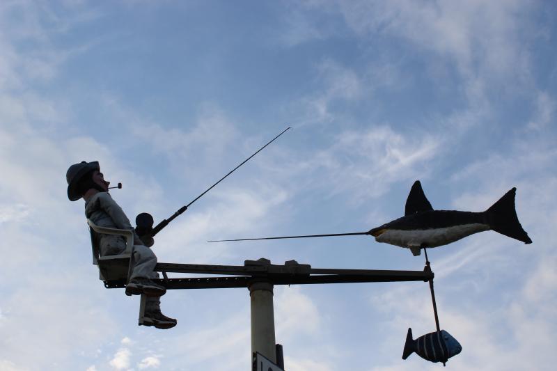 Il pescatore incontra il pesce spada