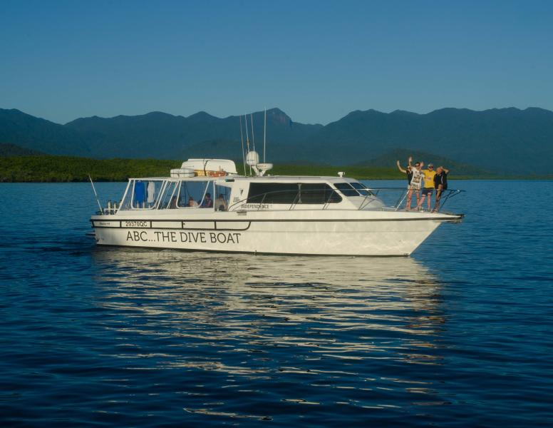 Dive and Snorkel the Outer Reef with us! Private charters and shared bookings available