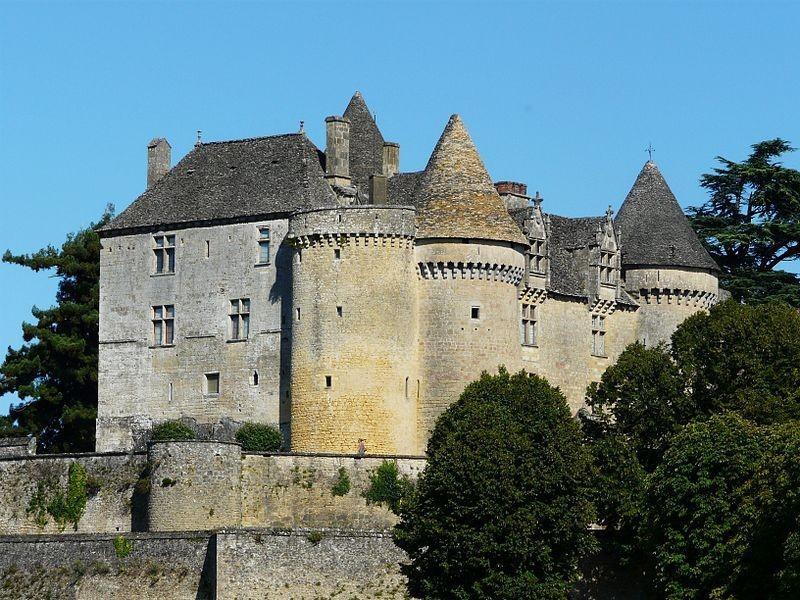 le chateau féodal de Fénelon à 5mn