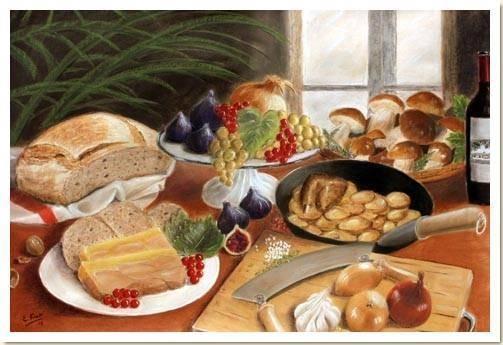 et profitez de la gastronomie Périgordine !