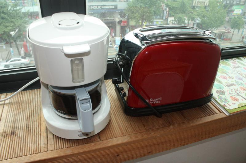 coffee and toast machine