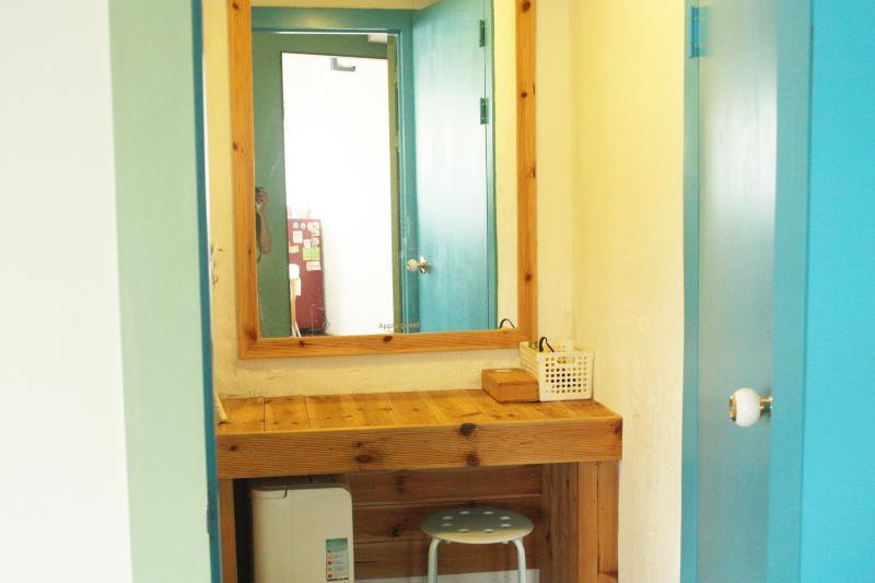 powder room in women bathroom