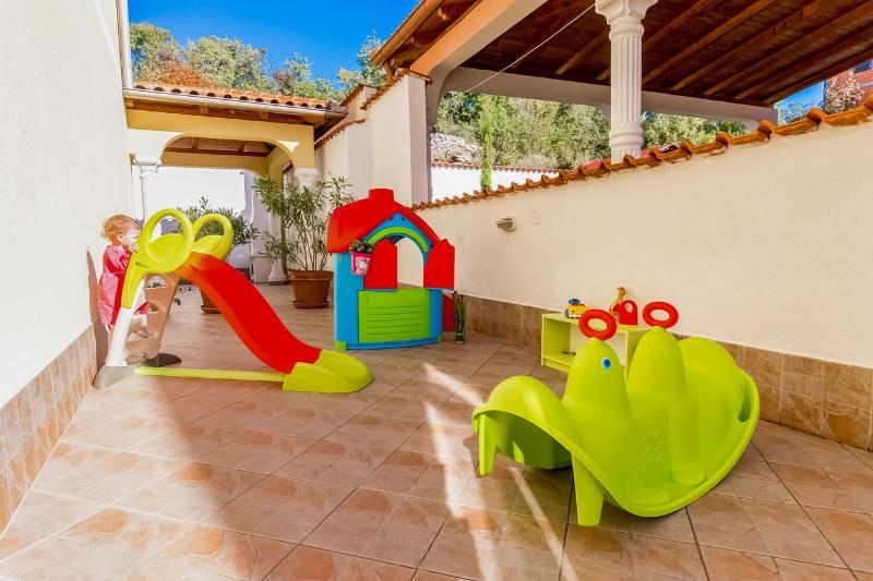Playground (for children up to 4-5 years)