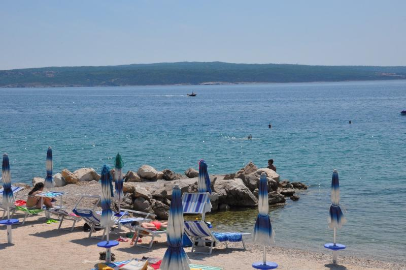 surrounding area - Dramalj - beach (cca 1200 m)