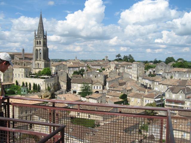 The town of St. Emilion