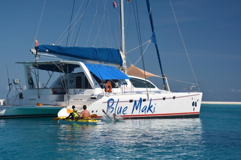 Croisière et Location catamaran Nosy Be Madagascar, location de vacances à Ambondrona