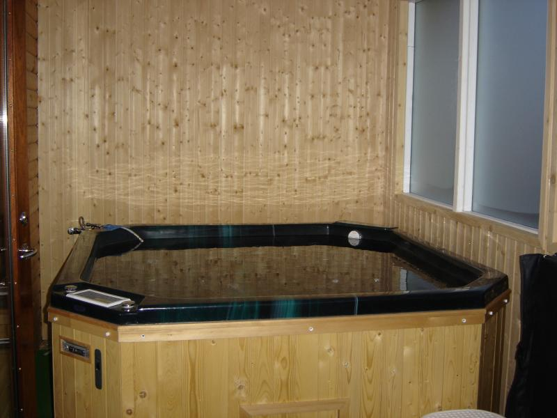 In-house hot tub