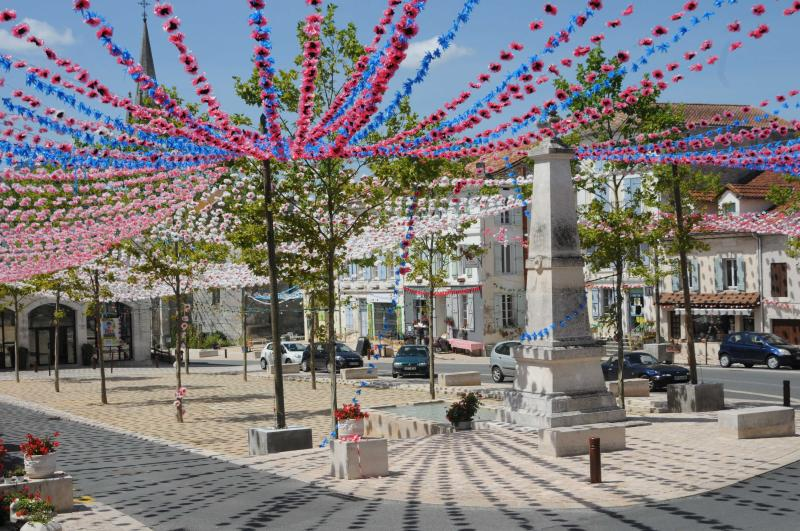 Local town decorated for Occitan festival