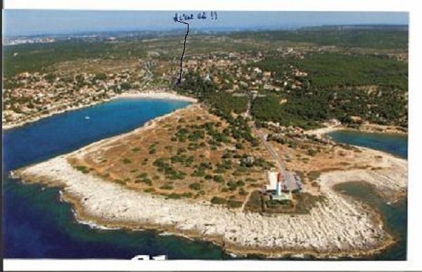 L'anse du Verdon et la côte bleue qui permet d'aller à pied à Marseille par le chemin des douaniers.