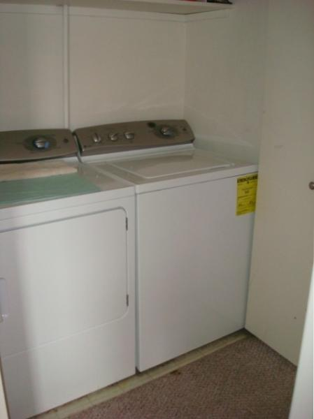 Full size, non-coin op washer and dryer
