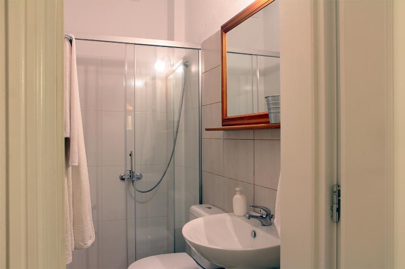 Small but  fully functional, the first bathroom is on the ground floor.