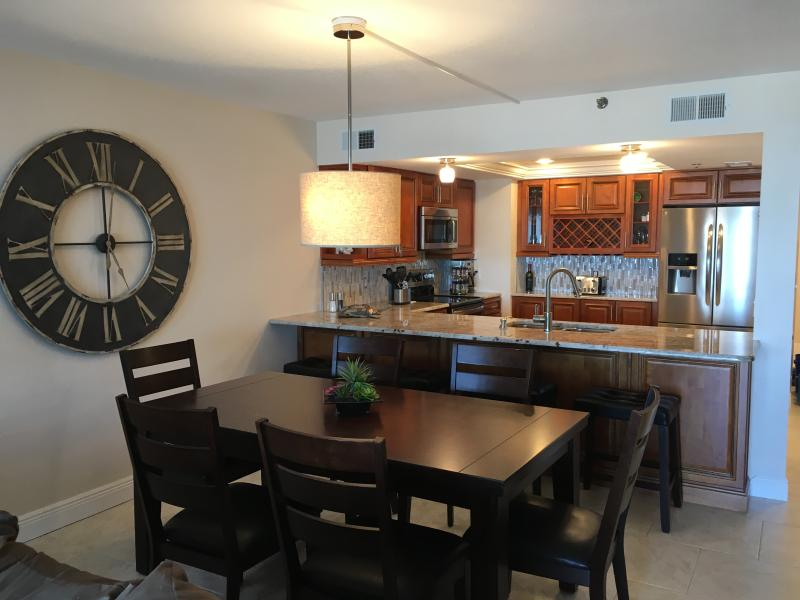 Brand new updated luxurious kitchen, all stainless steel appliances and granite fully equipped kitch