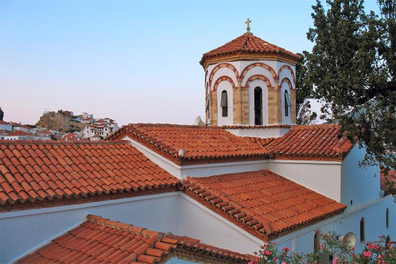 The church of PANAGIA PAPAMELETIOU is only a minute away from the house and it's well worth a visit.