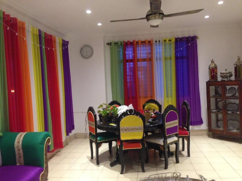My colourful Living Room