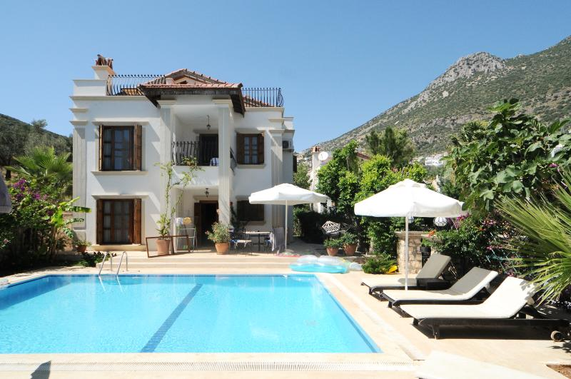 Secluded and private villa within 5 mins walk of the town and harbour
