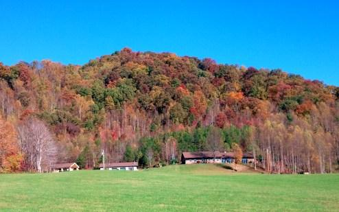 Main Inn, Retreat Houses and Pavilion on 40 private acres in the beautiful Blue Ridge Mountains.