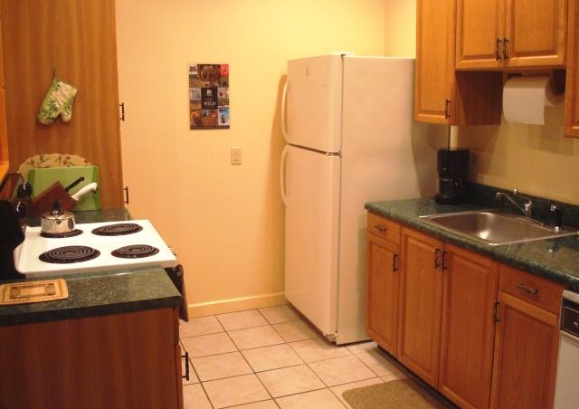 Retreat House has fully equipped kitchen for your use.