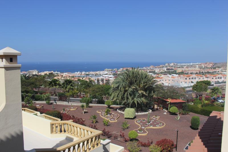 Wonderful view to the sea and the neighbour island La Gomera