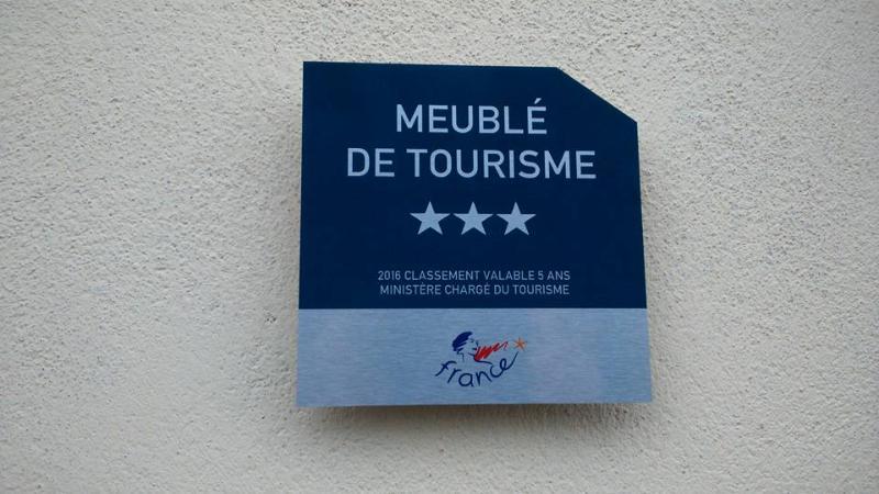 classé meublé de tourisme 3 étoiles