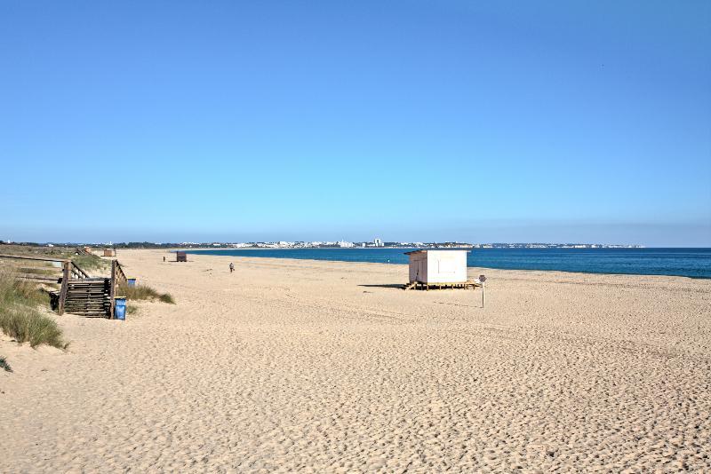 5 km beach