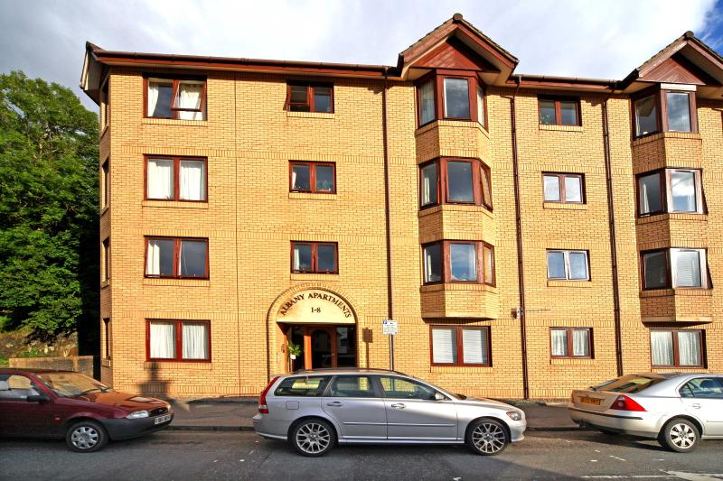 3 Albany Apartments Oban. Apartment located on 1st floor on left of photograph.