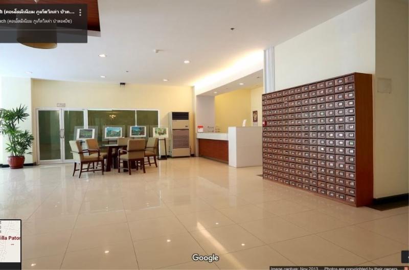 The residence lobby
