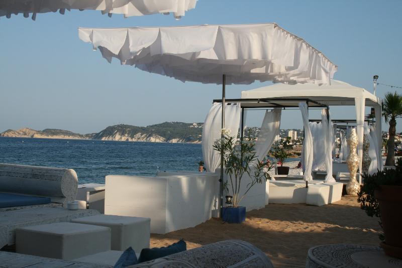 Ibiza-styled beachbars in Javea