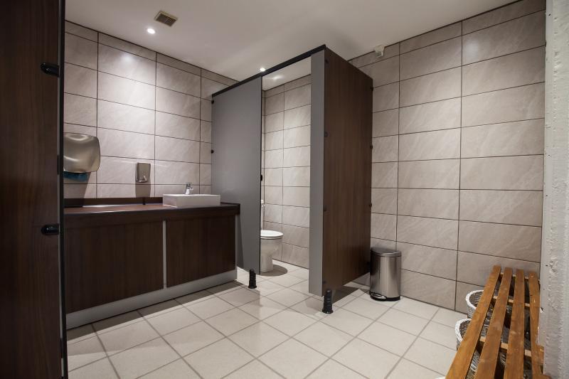 Men's changing rooms