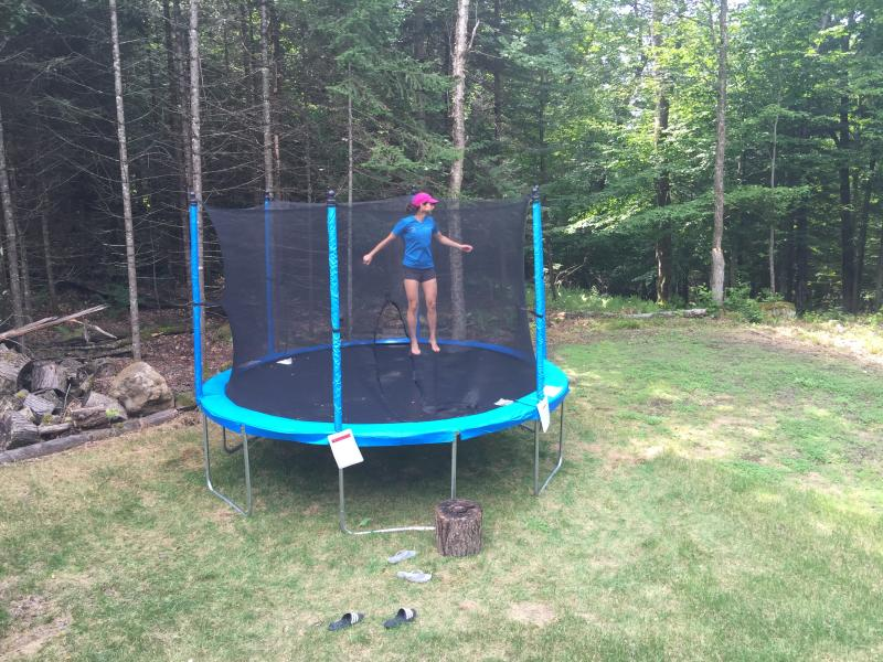 Trampoline for small and not so small kids