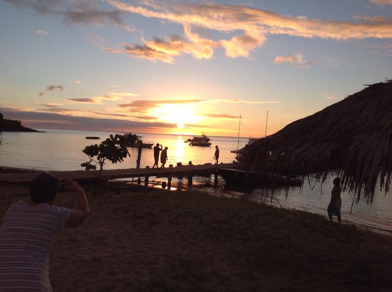 Sunset at Oualie Beach