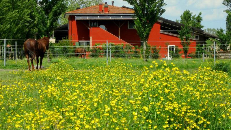 facciata esterna dell'Agriturismo...